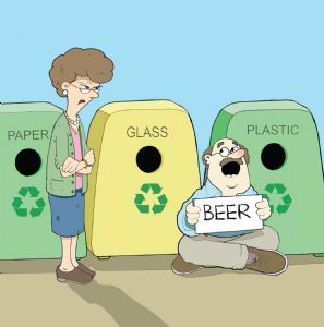 CAN70 - Beer Recycling Card